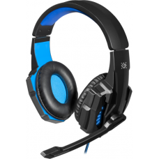 Навушники DEFENDER WARHEAD G-390 LED BLACK+BLUE