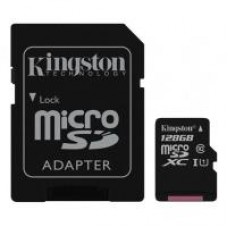 Карта пам'яті Kingston 128GB microSDXC class 10 UHS-I Canvas Select (SDCS/128GB)