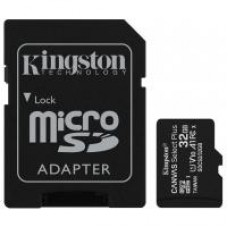 Карта пам'яті Kingston 32GB micSDHC class 10 Canvas Select Plus 100R A1 (SDCS2/32GB)